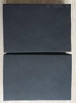 内蒙古定做35mm厚36公斤橡塑板订单