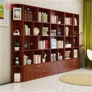 富滋雅韩式简易组合书柜书架置物架展示柜