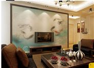 客厅专用皮雕背景墙