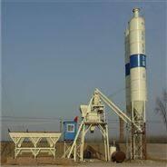 小型HZS25 移动式新型环保混凝土搅拌站