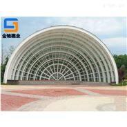 宁波厂家定制玻璃、铝板景观棚